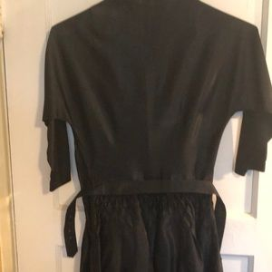 Vintage Dresses - 🤗🤩👗Truly Vintage black cinched waist dress